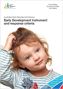 Image of publication cover for AEDC Early Development Instrument and response criteria